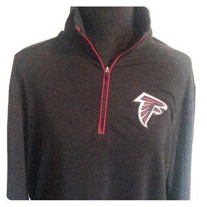 Nike Falcons On Field 1/4 ZIP Sweater - Size M
